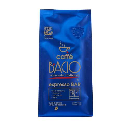 Cafe Mexicano Gourmet marca CAFFE BACIO MISCELA ITALIANA