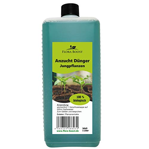 Konfitee Anzucht Dünger Jungpflanzen - Von Anfang an kräftige und gesunde Pflanzen für bessere Ernteerfolge (1000 ml)