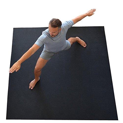 WideMat Esterilla de Yoga Pro Eco 183X183 cm. Antideslizante. Yoga con Libertad.