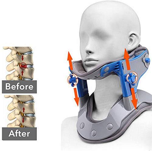 FMXYMC Erhitzen der Halskragenkorrektur Reparieren der Halswirbelsäulen-Zugvorrichtung Moxibustion Wärmebehandlung des Halswirbelsäulen-Massagegeräts