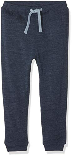 Name It Nmmwesso Wool SWE Pant W/o Embr Noos Pantalon, Bleu (Dress Blues), 86 Bébé garçon