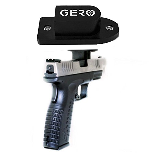 Tactical Quick Draw Gun Magnet Concealed Pistol Holder Handgun Fast Draw Perfect...