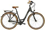 ORTLER deGoya Damen schwarz matt Rahmenhöhe 50cm 2019 Cityrad