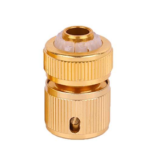 XJF Manguera de 3/4 'pulgadas de cobre puro conector rápido manguera de pistola de agua de jardín conector rápido Home Car Wash Conexiones de extremo de tubería