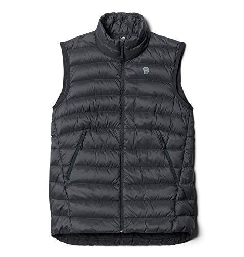 Mountain Hardwear Women's Standard Rhea Ridge Vest, Dark Storm, X-Small