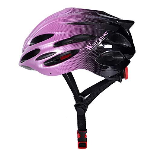 Casco de Bicicleta de montaña, Casco de Bicicleta de montaña para Hombres y Mujeres, Casco de Ciclismo para Adultos Ligero Ajustable, 24 ventilaciones (56-62cm)