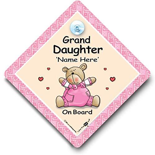 Granddaughter On Board \