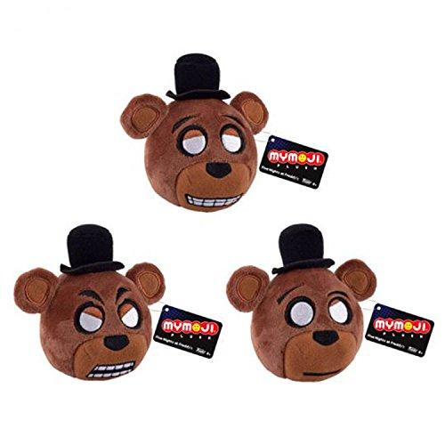 Plush: Five Nights at Freddy's: Teddy Fazbear cara