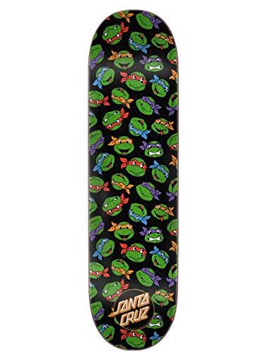 Santa Cruz x TMNT Skateboard Deck Allover Turtle 8.25