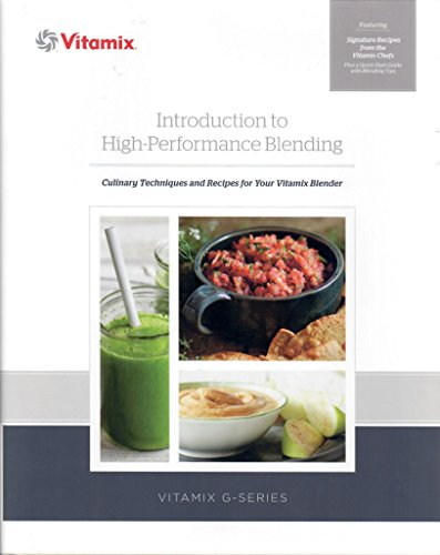 vitamix introduction to high performance blending book