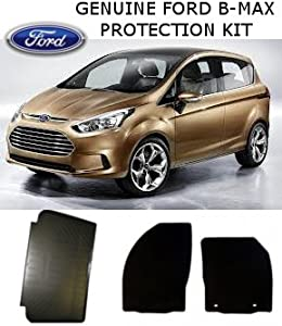 NEW GENUINE FORD B-MAX PROTECTION PACK RUBBER MATS  amp  ANTI SLIP BOOT LINER