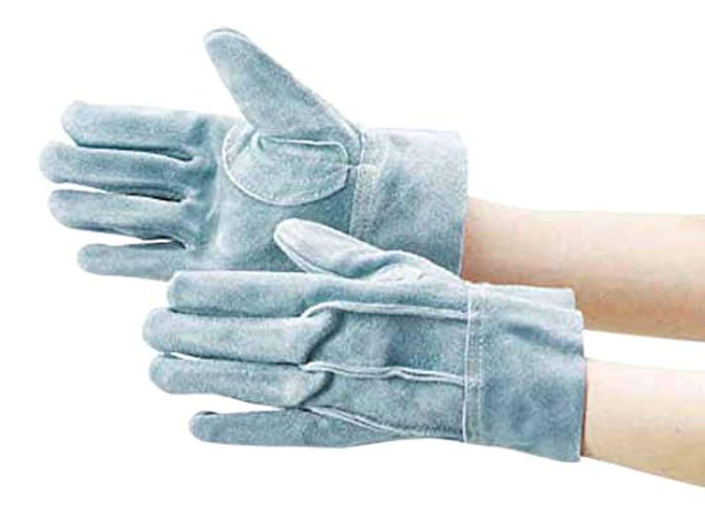 TRUSCO(トラスコ) オイル加工革手袋 スタンダードタイプ LLサイズ TYK-107APW-LL