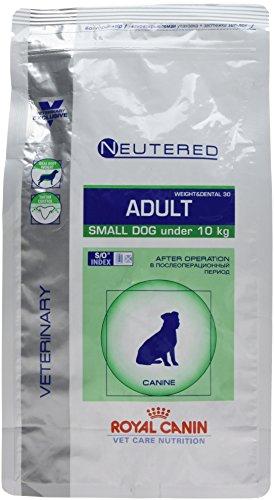 Royal Canin Veterinary Care Nutrition Dog Weight and Dental Neutered Nourriture pour Chien/Chienne Stérilisé de Petite Race