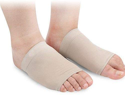 Metatarsal Gel Kissen Linderung Fußballen Vorderfuß Schmerzen Fasziitis Fußgewölbe Stütze Ärmel Kissen Quader Syndrom Flach Schmerzende Füße Fußpflege Fünf Paar