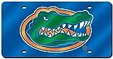 Rico Laser cut Auto Tag, Florida Gators, 6 x 12 -inches