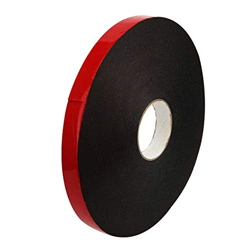 Bestpads PE Double-Sided Adhesive Tape 164FT for TV Antenna Weatherproof Decorative and Trim Car Trim Strip Photo Frame (Wide 1 inch Long 164 Ft)