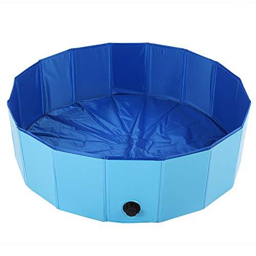 XiangXin Piscinas Baño para Mascotas Bañera Bañera Piscina para Perros, Bañera para Mascotas, para Perros domésticos(Blue, Large)