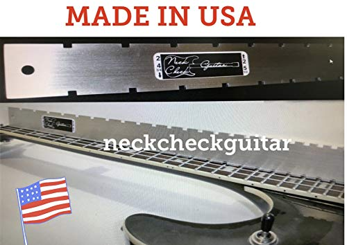 Guitar Neck Straight Edge (Notched) Luthiers Tool. Fender/Gibson. Most Electrics