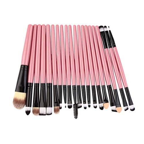 Pack de pinceaux professionnels 20 pièces Kit de pinceaux de maquillage complet Kit professionnel ou personnel