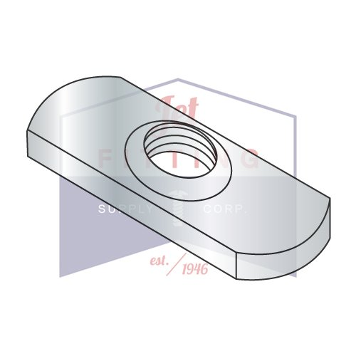 1/4-20 Spot Weld Nuts   Center Hole Design, Without Projections   Low Carbon Steel   Plain Finish (Quantity: 1000)