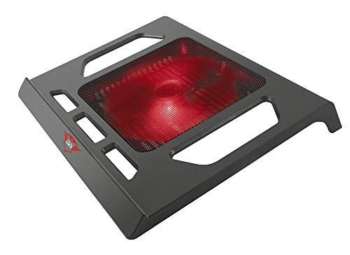 Trust Gaming GXT 220 - Base de refrigeración para Ordenador portátil de hasta 17.3', Negro
