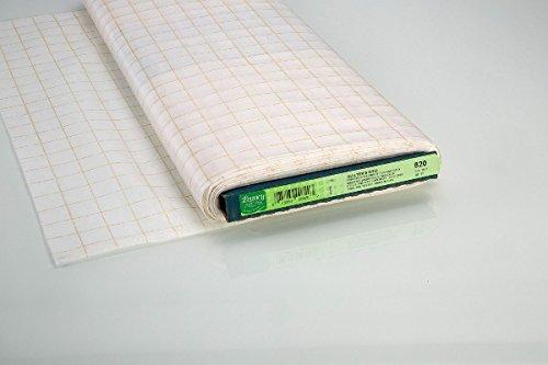 Quilter's Grid fixierbar weiß (1 Meter)