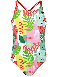 Harry Bear loves making a big splash for fun in the sun! Premium quality kids patterned swim wear. Super comfy stretchy tropical floral motif swimsuit. Aloha! Experience exotic vibes with this Hawaii style swimming costume! Crafted for quality and st...