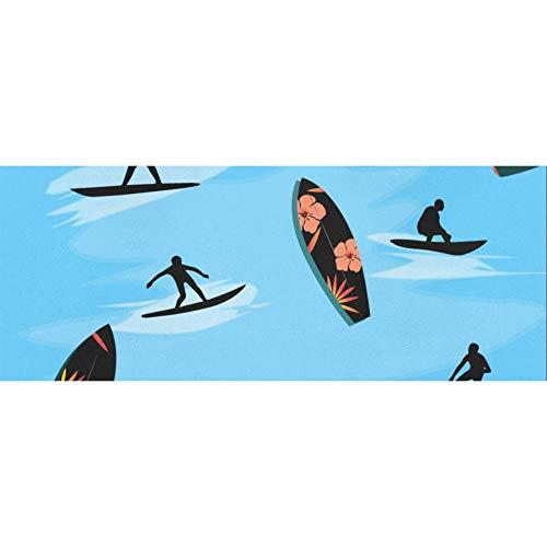 Buntes interessantes Seaside Surf Weihnachts-Geschenkpapier 58x23inch 2 Rollen Weihnachtsferien-Geschenkpapier Valentinstag-Geschenkpapier für Muttertag Ostern Hochzeiten Geburtstage oder jede Geleg