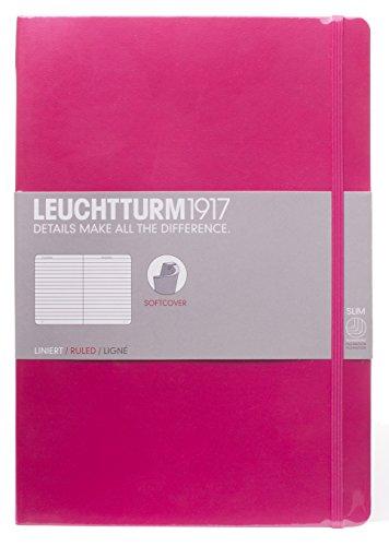 Leuchtturm 1917 Composition B5 Notizbuch, Softcover, liniert, 17,8 x 25,4 cm, beerenfarben
