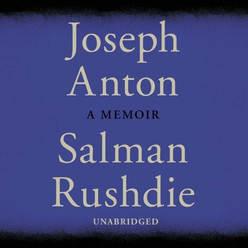 Joseph Anton audiobook cover art