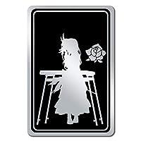 マウスパッド 白金燐子 黒×銀 048S
