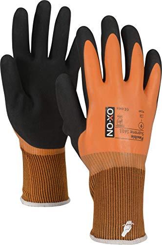 HandschuhMan. Ox-On Flexible Supreme 1611, wasserdichte Handschuhe Größe 8-11 (9/L)