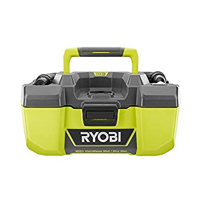 RYOBI 18-Volt ONE+ 3 Gal Project Wet/Dry Vacuum and Blower with Accessory Storage (Tool-Only- Battery and Charger NOT included)