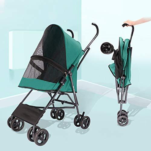 OMLTER Lightweight Multi-Function Foldable Pet Stroller