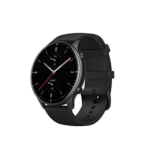 ZGZYL Smartwatch Smartwatch, Druck, Blut Sauerstoffüberwachung, Herzfrequenzüberwachung 5ATM Wasserdicht, 14 Tage Akkulaufzeit, 326PPI Amoled Display-Musik,B