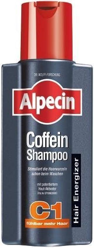 論理仮定する見物人Alpecin Coffein-Shampoo C1 - 8.45 oz /250 ml - fresh from Germany by Alpecin [並行輸入品]