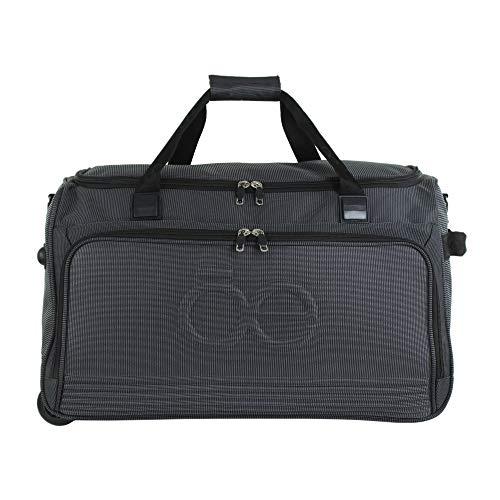 Cloe- Maleta Tipo Duffle Bag De 13' De Cabina Color Negro Unisex