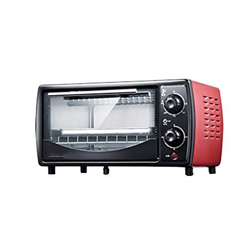 Z&L Mini Horno, Horno Eléctrico Multifunción para Uso Doméstico, Capacidad 12L-19L, Acero Inoxidable Duradero Y Resistente Al Calor,Red,12L