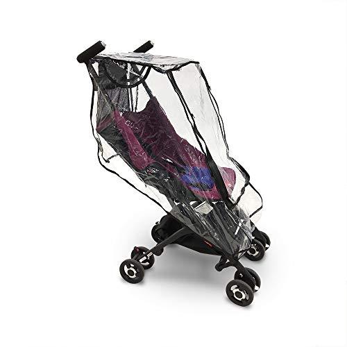 Regenschutz Fit für Goodbaby Pocket Stroller Winddichtes, Wasserdichtes Zubehör, Geeignet für den Kinderwagen von GB Pockit 3S 2S 3C Plus (ONESIZE)