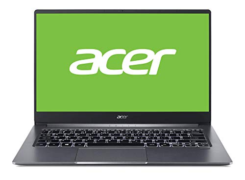 "Acer Swift 3 - Ordenador portátil de 14"" FullHD (Intel Core i5-1035G1, 8GB RAM, 256GB SSD, UMA, Windows 10 Home) Gris - Teclado QWERTY Español"