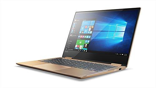 Lenovo Yoga 720-13IKBR - Ordenador portátil táctil convertible 13.3' FullHD (Intel Core i7-7500U, 8GB RAM, 512GB SSD, Intel UHD Graphics, Windows 10) Cobre - Teclado QWERTY Español