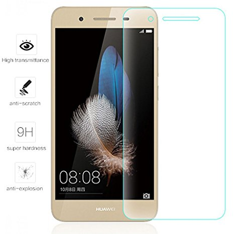 Tumundosmartphone Protector Pantalla Cristal Templado para Huawei P8 Lite Smart Vidrio