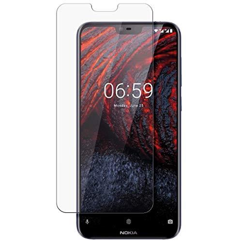 disGuard Schutzfolie für Nokia 6.1 Plus [2 Stück] Entspiegelnde Bildschirmschutzfolie, MATT, Glasfolie, Panzerglas-Folie, Bildschirmschutz, Hoher Festigkeitgrad, Glasschutz, Anti-Reflex