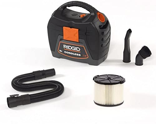 RIDGID 3 gal 18V Cordless Handheld Wet Dry Vac with 1 7 8 Extension Wand Accessory for Select product image