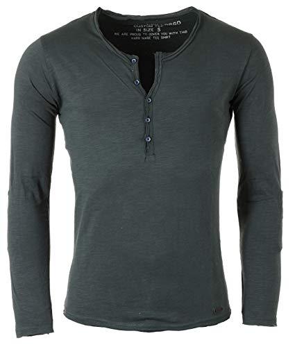 KEY LARGO Herren MLS Ginger T-Shirt, Bottle Green (1503), M