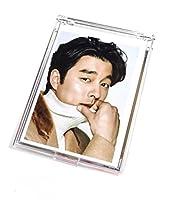 コンユ  人気の韓国スター折りたたみミラー「鏡」