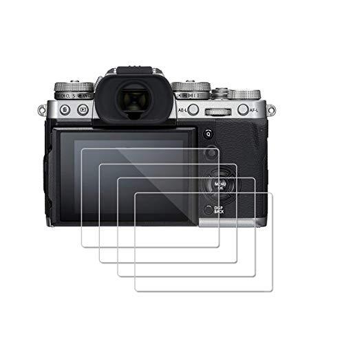 MWOOT 3 Pezzi Pellicole Protettive per Fujifilm X-T3, Anti Graffi Vetro Temperato per Protezione dello Schermo