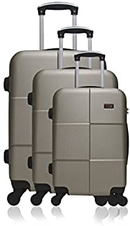 Hero Luggage Set, Beige (Champ), 69 cm