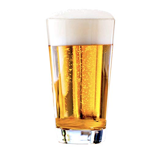 Vicrila - Vaso de Cerveza Belagua 470ml - Pack de 12 - Cocktails y Combinados - Apto para Microondas y Lavavajillas