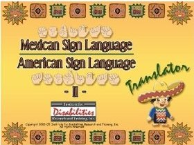 MSL Mexican Sign Language to/from ASL American Sign Language Translator